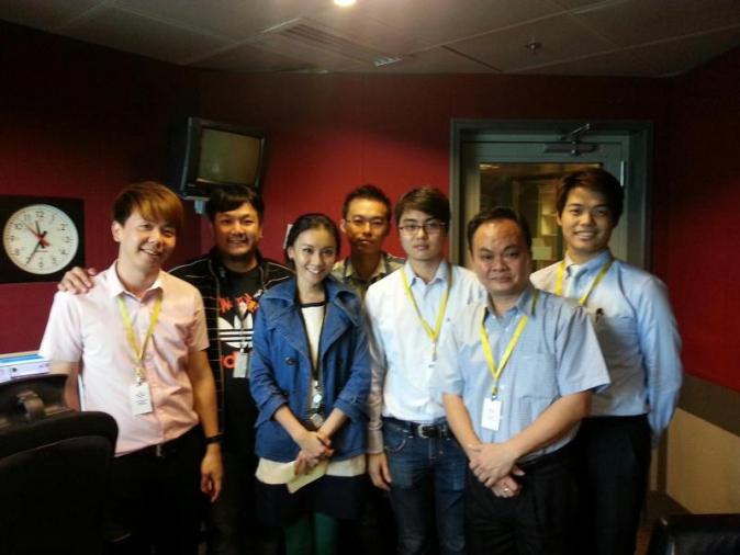 Sahara-X Team With Jack & Mei Yan (My Fm) Radio DJ