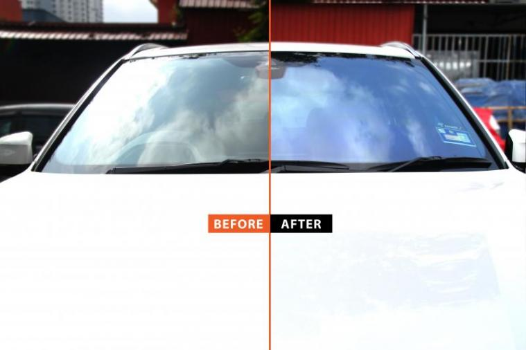 Sahara X Prodigy Window Film Before After @ BMW X5