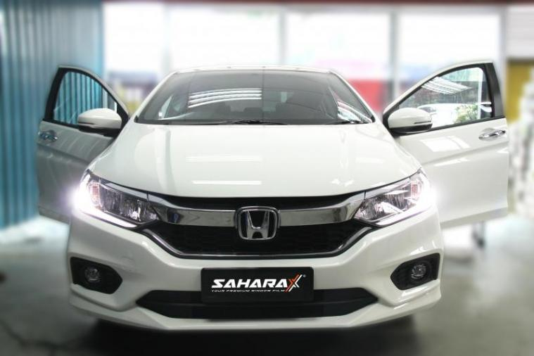 Sahara X Eco Cycle Window Film @ New Honda City