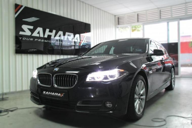 Sahara X Eco Cycle Window Film @ BMW 5 Series